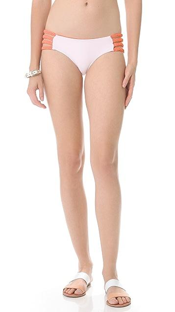 Tori Praver Swimwear Shyla Reversible Bikini Bottoms