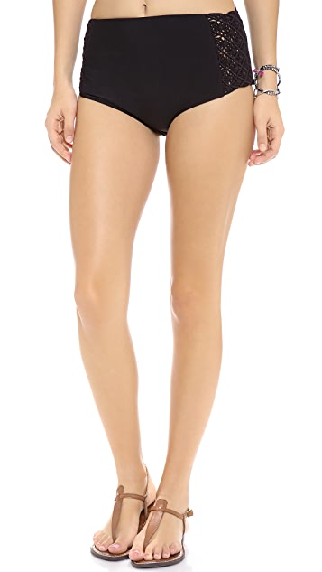 Tori Praver Swimwear Toledo High Waisted Bikini Bottoms