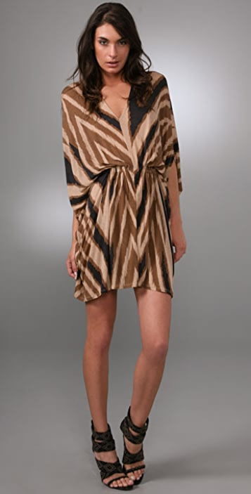 Torn by Ronny Kobo Lou Tribal Row Dress