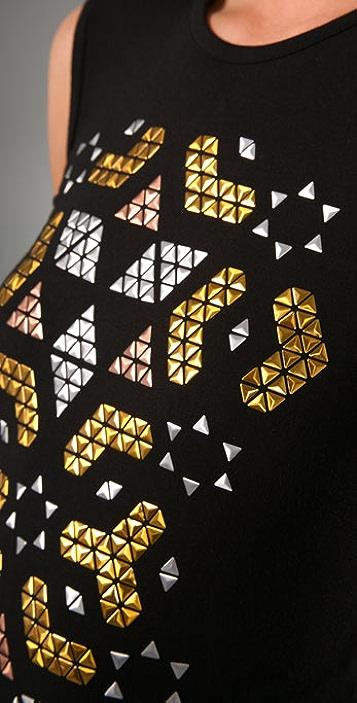 Torn by Ronny Kobo Ashley Moroccan Stud Dress