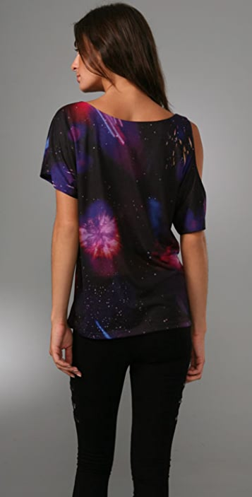 Torn by Ronny Kobo Milana Space Print Top