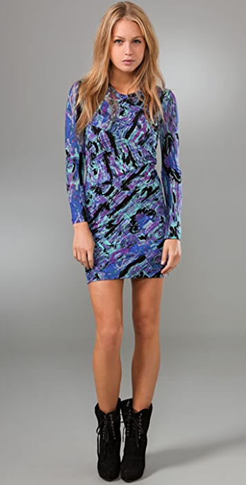 Torn by Ronny Kobo Tara Cosmic Dress