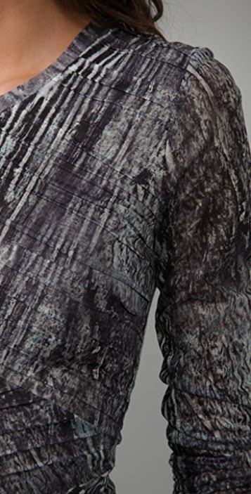 Torn by Ronny Kobo Tara Erosion Dress