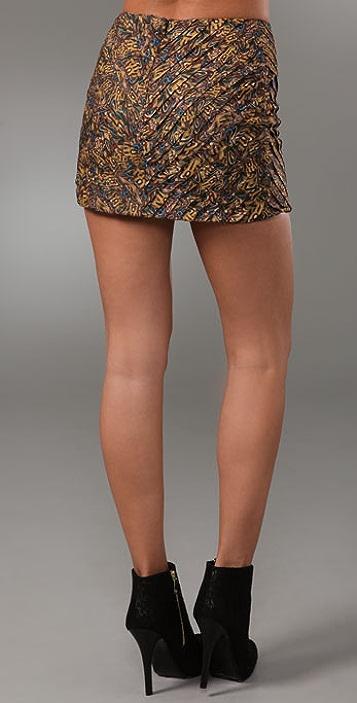 Torn by Ronny Kobo Sonia Pleated Miniskirt