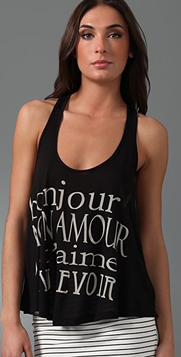Torn by Ronny Kobo Tracy French Lesson Swing Tank