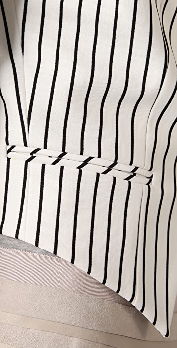 Torn by Ronny Kobo Kat Striped Blazer
