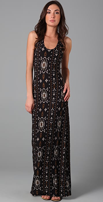 Torn by Ronny Kobo Maria Aztec Long Dress