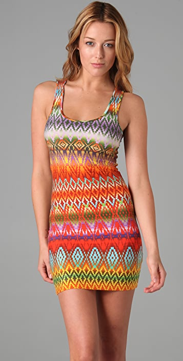 Torn by Ronny Kobo Sammy Printed Dress