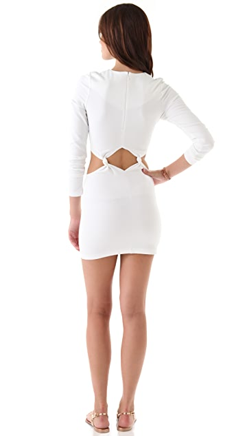 Torn by Ronny Kobo Allison Mini Dress