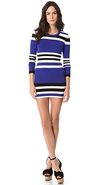 Torn by Ronny Kobo Cecilia Cruise Stripes Dress