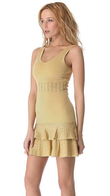 Torn by Ronny Kobo Ari Crocodile Dress