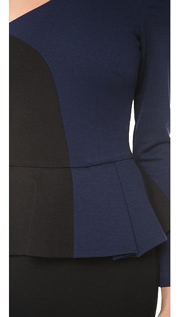 Torn by Ronny Kobo Anastasia One Sleeve Dress
