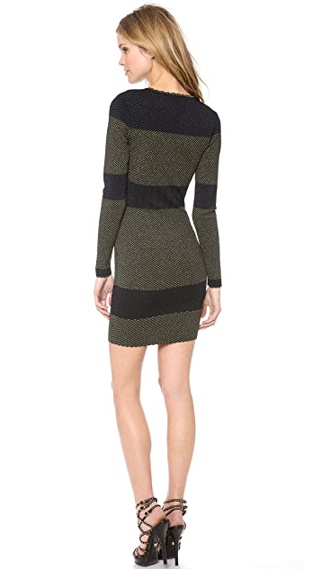Torn by Ronny Kobo Mammie Long Sleeve Dress