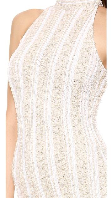 Torn by Ronny Kobo Claudia Long Dress