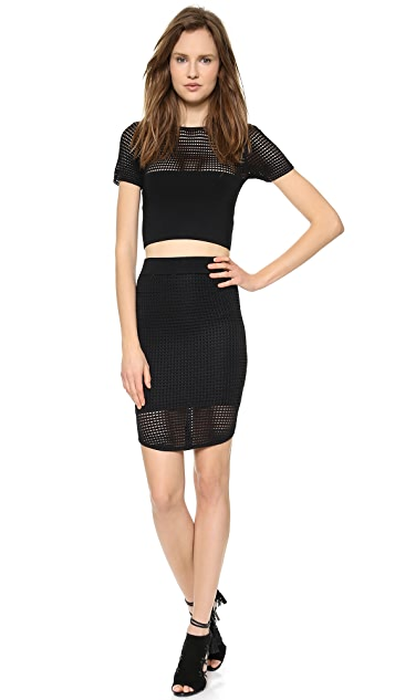 Torn by Ronny Kobo Yolanda Skirt