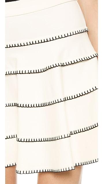 Torn by Ronny Kobo Angele Skirt