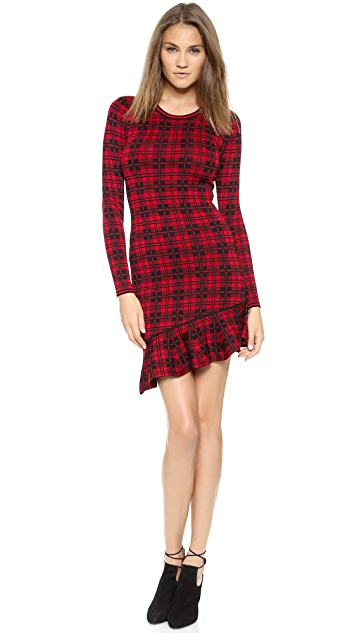 Torn by Ronny Kobo Abir London Plaid Dress