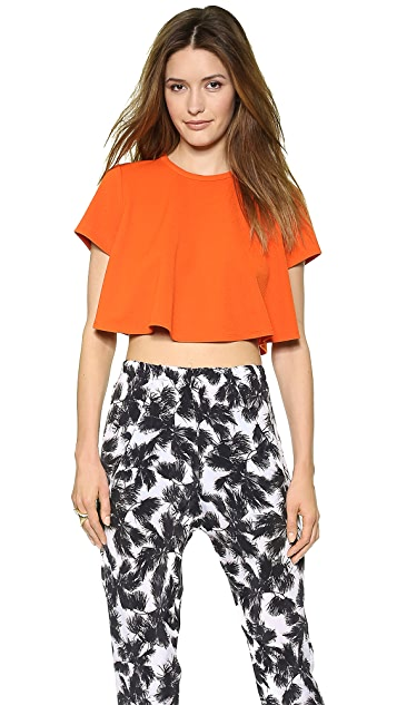 Torn by Ronny Kobo Lena Textured Top