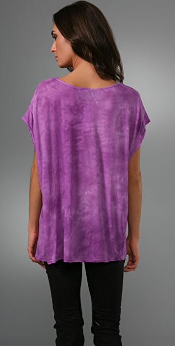 Torn by Ronny Kobo for The Mountain Mystical Horses V Neck Tee
