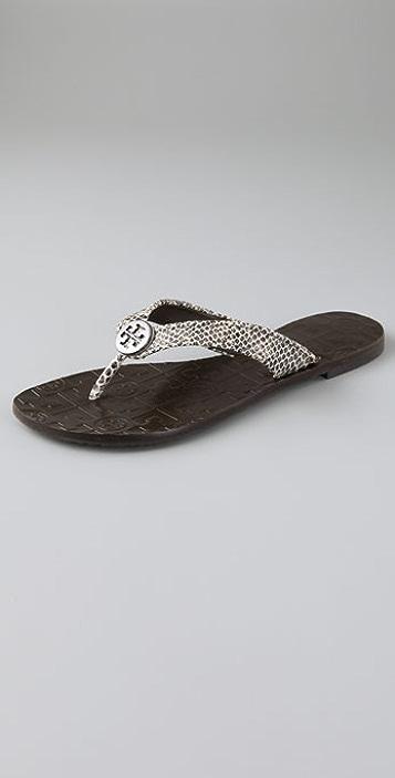 d4630937bc7c Tory Burch Thora Flat Thong Sandals
