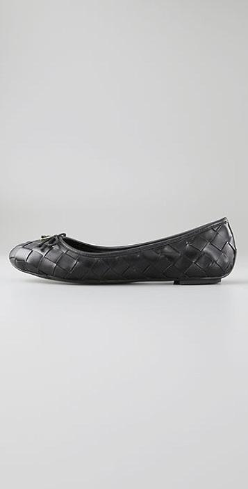 Tory Burch Prescot Woven Ballet Flats