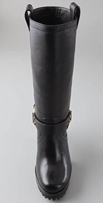 Tory Burch Rainelle Motorcycle Boots