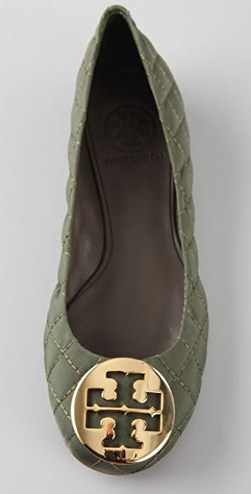 Tory Burch Reva Quilted Flats