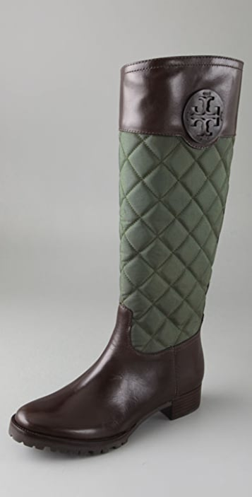 bf8e69170bbe3 Tory Burch Rowan Quilted Boots ...