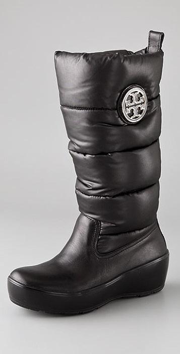 1aad31091ea Tory Burch Puffer Wedge Boots
