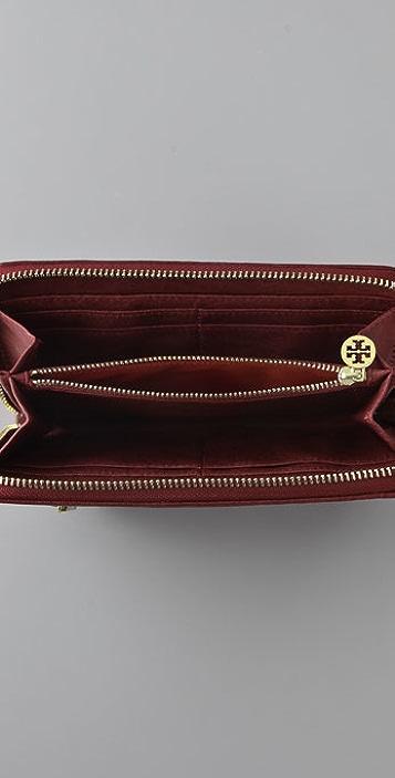 Tory Burch Steffi Zip Continental Wallet