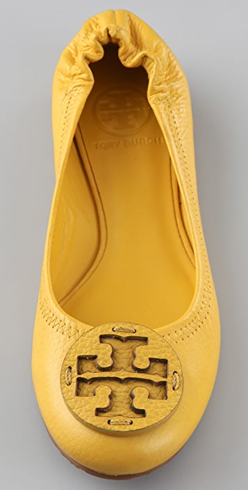 Tory Burch Self Logo Reva Flats