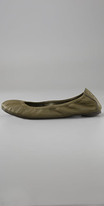 Tory Burch Eddie Elastic Ballet Flats