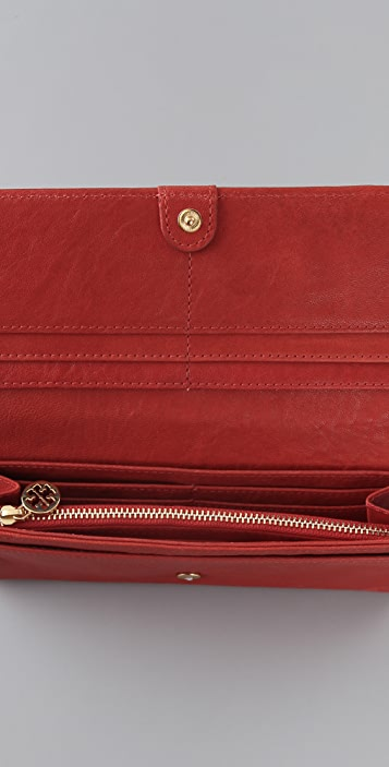 Tory Burch Audra Envelope Continental Wallet