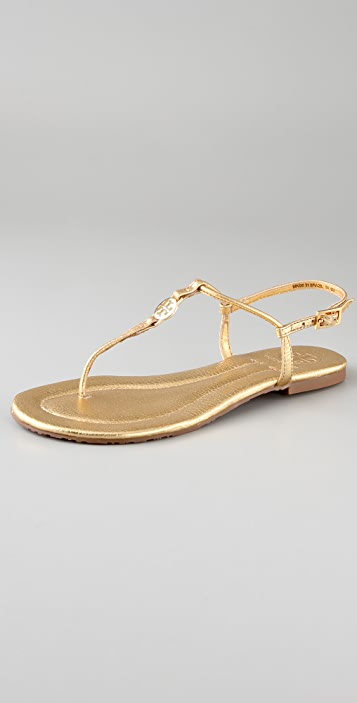 8de4cde370c7d9 Tory Burch Emmy Thong Flat Sandals