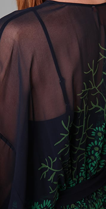 Tory Burch Isabeli Caftan Long Dress