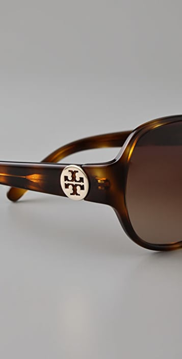 Tory Burch Logo Sunglasses