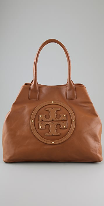 Tory Burch Stacked Logo Summer Tote