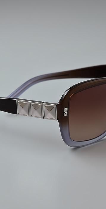Tory Burch Rectangle Sunglasses