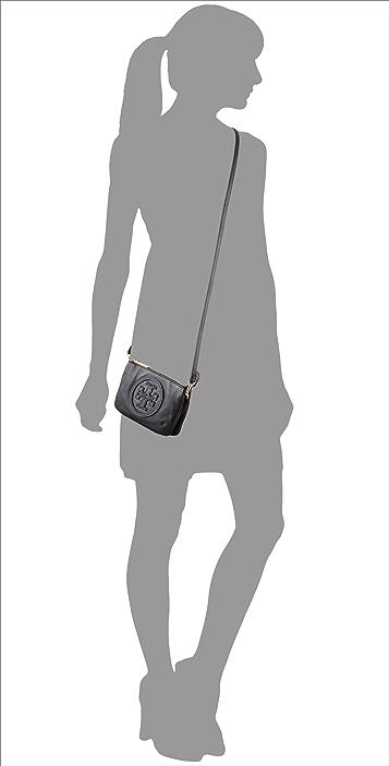 Tory Burch Stacked Logo Small Cross Body Bag