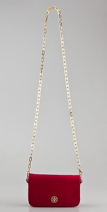 Tory Burch Saffiano Robinson Chain Bag