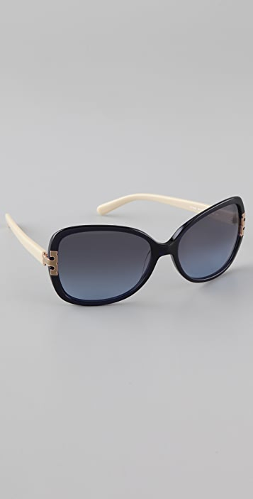 Tory Burch T Logo Sunglasses