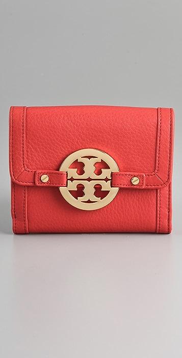 Tory Burch Amanda Double Snap Wallet