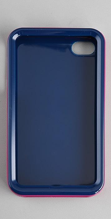 Tory Burch Striped iPhone Case