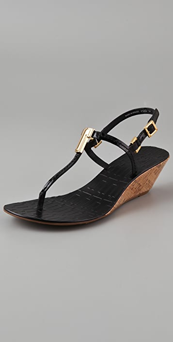 Tory Burch Pauline Wedge Sandals ...