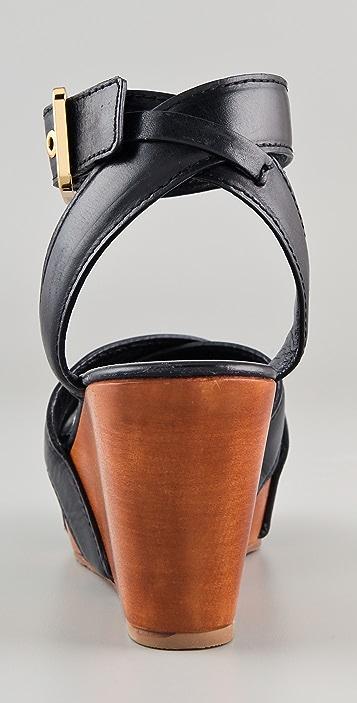 3a4383bfa26 ... Tory Burch Almita Wedge Sandals