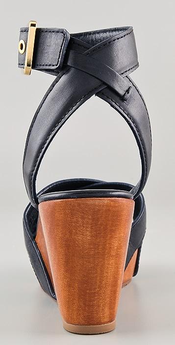 Tory Burch Almita Wedge Sandals