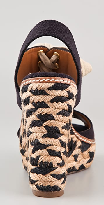 Tory Burch Linley Wedge Espadrilles