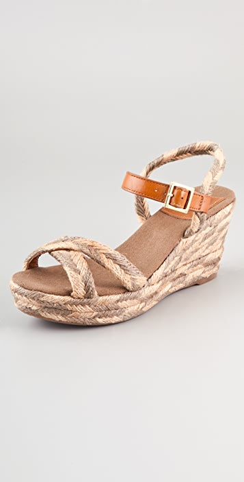 Tory Burch Camelia Mid Wedge Espadrilles ...