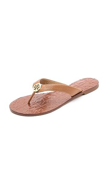 68d3ce284c702 Tory Burch Thora Flat Thong Sandal