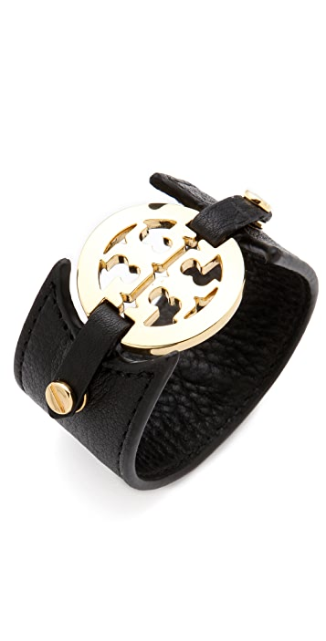 Tory Burch Double Snap Logo Cuff